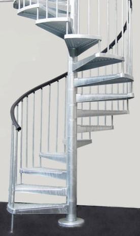 Scale a chiocciola scale su misura ringhiere e cancelli - Cancelletti per scale a chiocciola ...